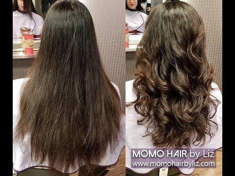 Digital Perm 54ad Momo Hair Toronto Do You Want To Be Beautiful Call Us You Re Just One Step Away 647 748 Digital Perm Long Hair Perm Permed Hairstyles