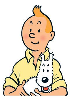 I have always loved Tintin and Snowy!