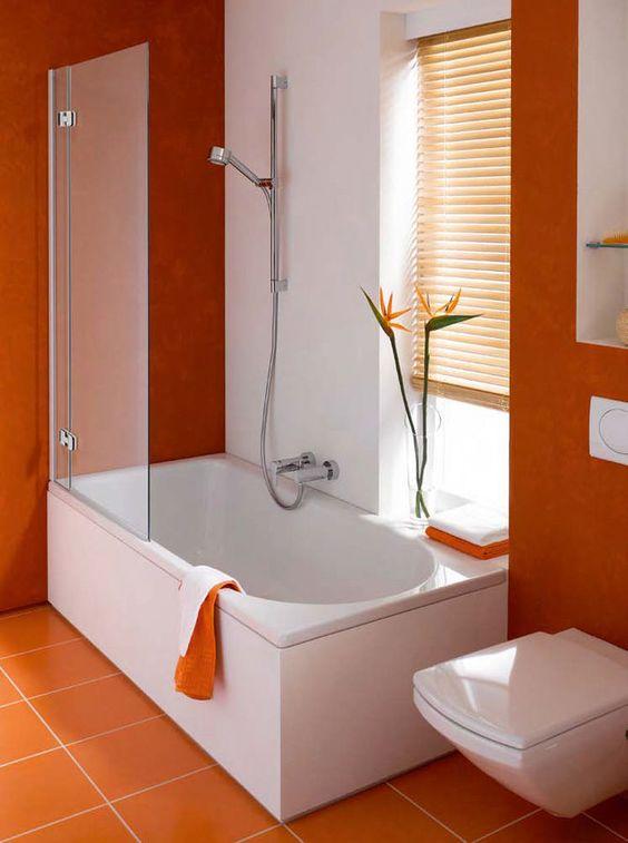 Toilets tub shower combo and shower bath combo on pinterest for Rectangular bathroom designs