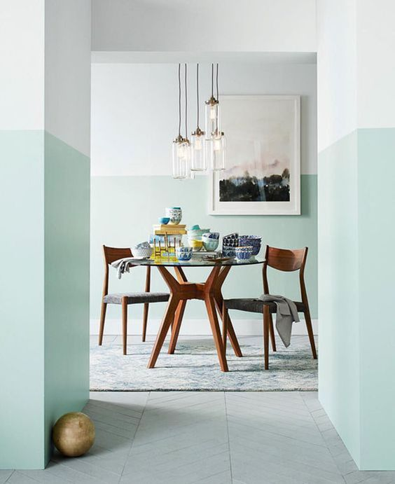 TONE IT UP: TWO TONE PAINTED WALLS