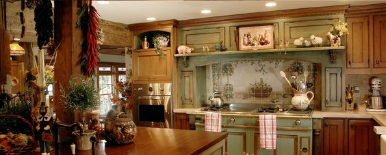 Small French Country Kitchens Custom Kitchens Cabinets