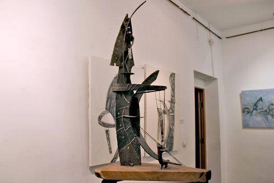 На выставке в Доме художника в Калининграде. Фото Жени Шведы