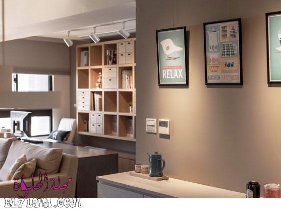 تتميز الوان دهانات حوائط 2021 بالتميز والتنوع الشديد من أجل أن ترضي جميع الأذواق وتتما Interior Design Apartment Small Modern Apartment Modern Apartment Design