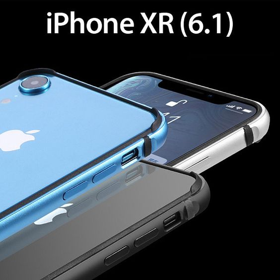 Iphone Xr 6 1 Slim Bumper Iphone Phone Screen Protector Usb