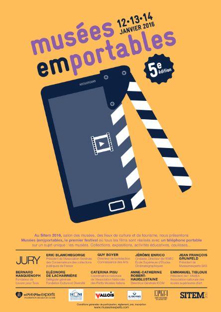 [Avant le 1er décembre 2015] Musées (em)portables - réaliser film avec téléphone portable, caméra de poche, tablettes