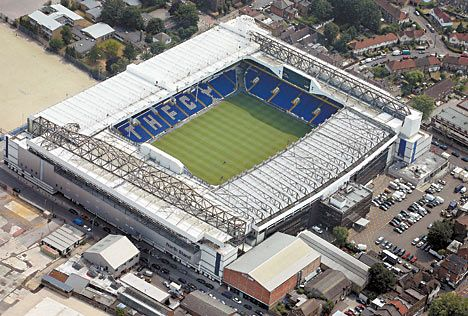 White Hart Lane, North London - Tottenham Hotspur FC - home of the Yid Army