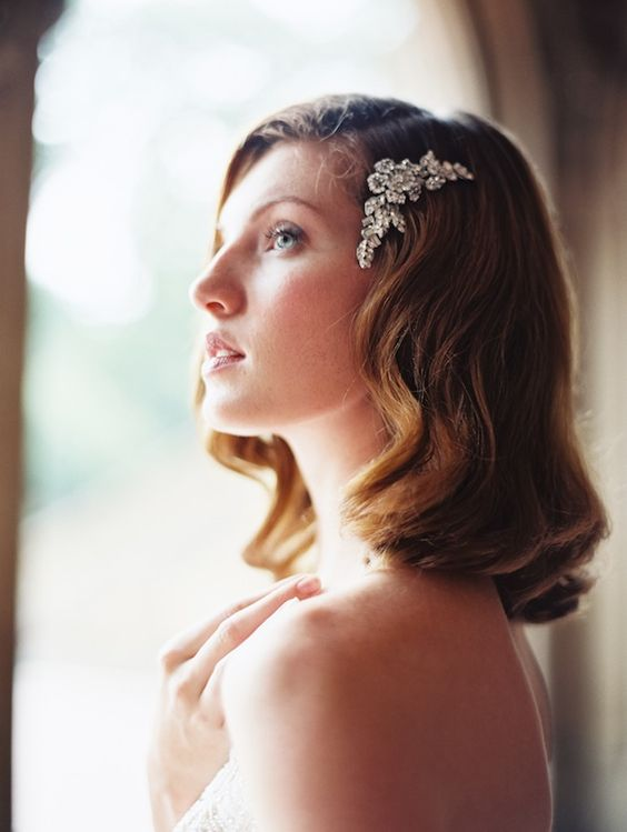 exquisite bridal headpiece by @Robin Headley ATELIER by LIV HART | photo by @Laura Jayson Gordon