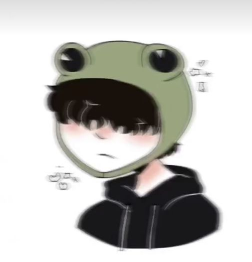 Frog Hat Pfp In 2021 Cute Profile Pictures Cute Icons Anime Best Friends