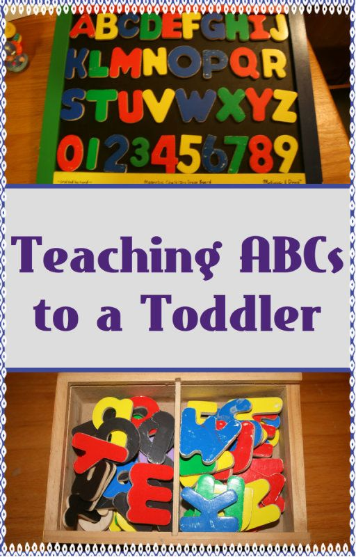 5 ways to teach abcs to a toddler with magnetic letters for Magnetic letters for 1 year old