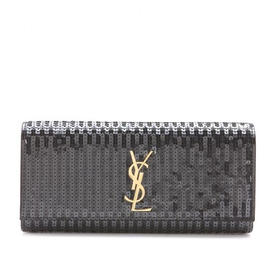 mytheresa.com - Sequinned clutch - Luxury Fashion for Women / Designer clothing, shoes, bags
