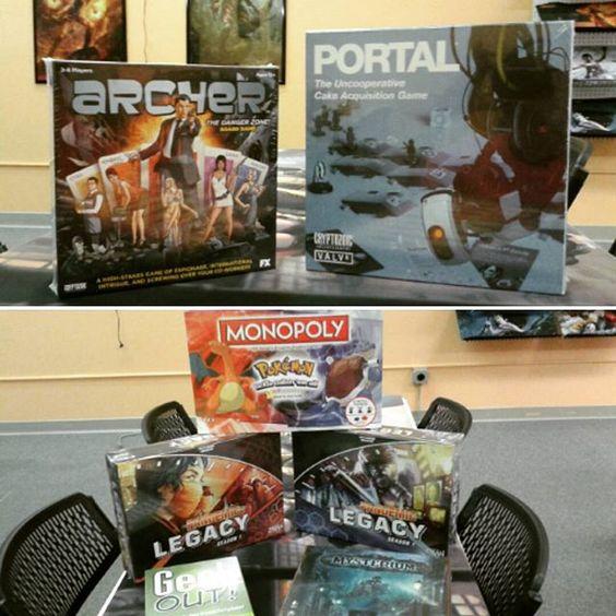 New stock in Great Falls #retrofixgaming. #retrofix #boardgames #gaming #tabletop