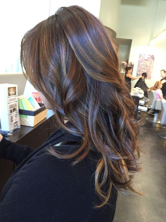 chestnut hair color with caramel highlights chestnut brown with caramel somber highlights hair