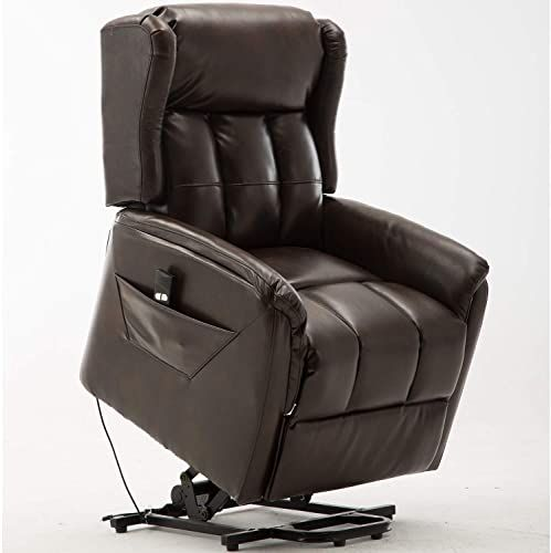 Amazing Offer On Bonzy Home Power Lift Recliner Chair Air Leather Electric Recliner Remote Control Bedroom Living Room Chair Recliner Sofa Elderly Brow In 2020 Lift Chairs Recliner
