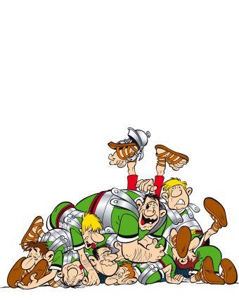 Ast rix ast rix de a z les personnages caius bonus - Personnage asterix et obelix ...