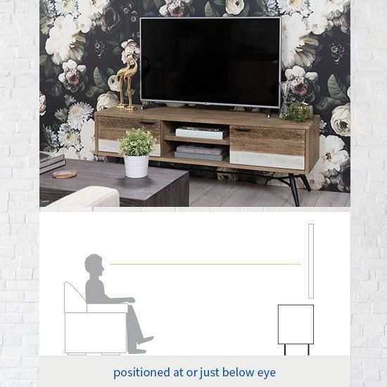 Tv Stand Size Guide Read This Before Buying Living Spaces Tv Stand Height Tv Stand Built In Tv Cabinet