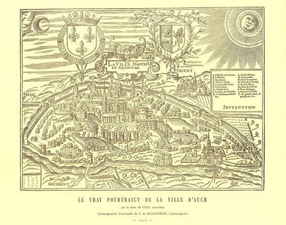 Le plan de Belleforest – partie 2