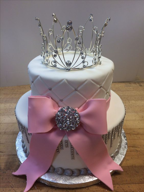 Bling Y Sweet 16 Cake Quilted Fondant Made By La