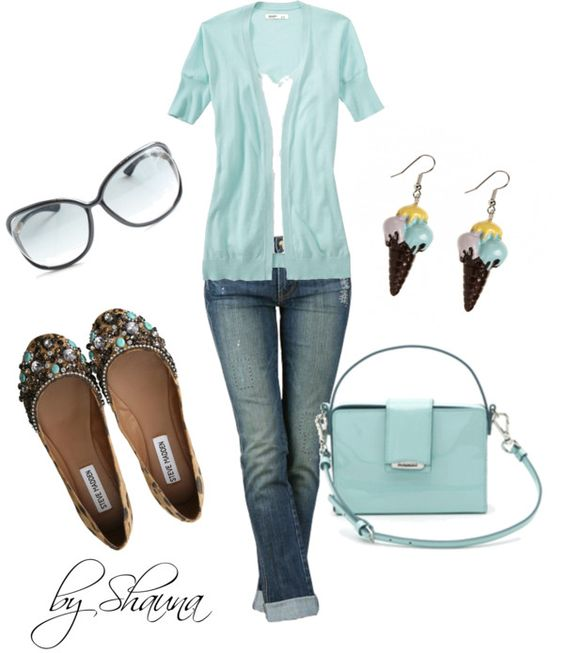 """""""light blue fun"""" by shauna-rogers on Polyvore"""