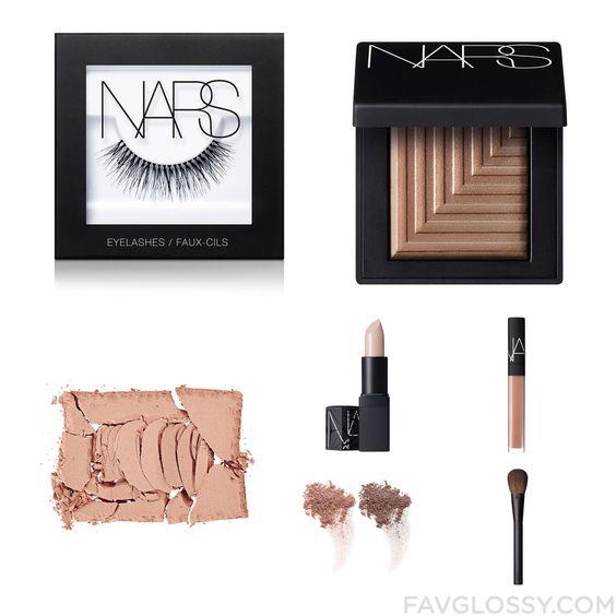 Beauty Recipe Including Nars Cosmetics False Eyelashes Matte Eyeshadow Nars Cosmetics Blush And Matte Lipstick From September 2015 #beauty #makeup