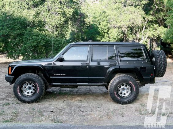 Fit 33s On An XJ Cherokee With 2 Inches Of Lift Jp