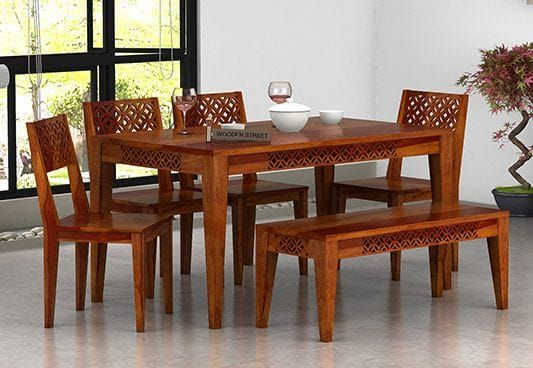 31++ Dining table for 6 with bench Various Types