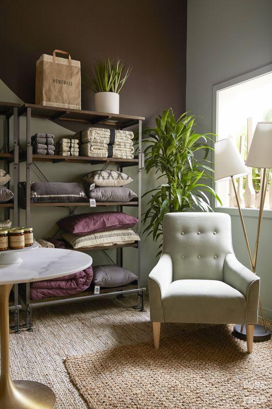 Ayesha Curry Homemade Pop Up Shop Bedding Corner Interior Design