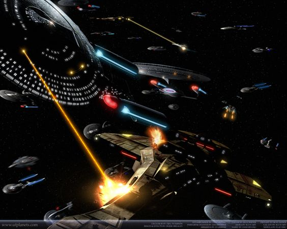 We're going through... Sacrifice of Angels (DS9). Hand's down the best episode in the history of Star Trek.