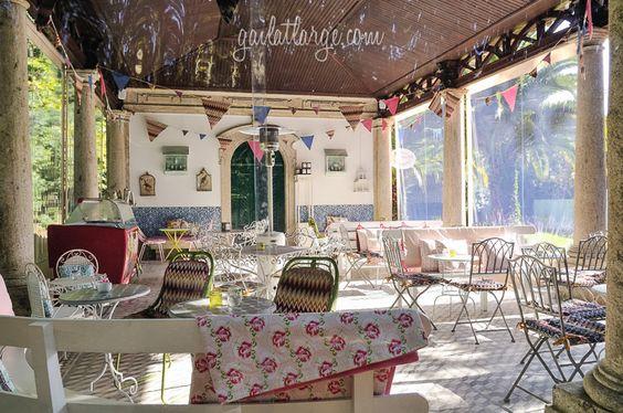 Vintage Coffee and Tea House, Palácio da Brejoeira (Monção, Portugal) (3) - Posted on December 3, 2014 by Gail at Large