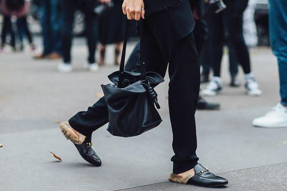 Как выглядели и что носили самые модные девушки последнего дня парижских показов: