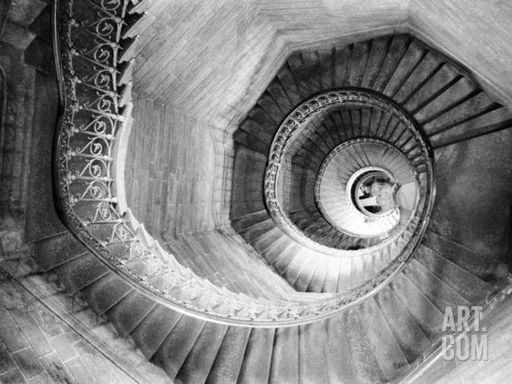 Traboule Staircase, Lyon, France