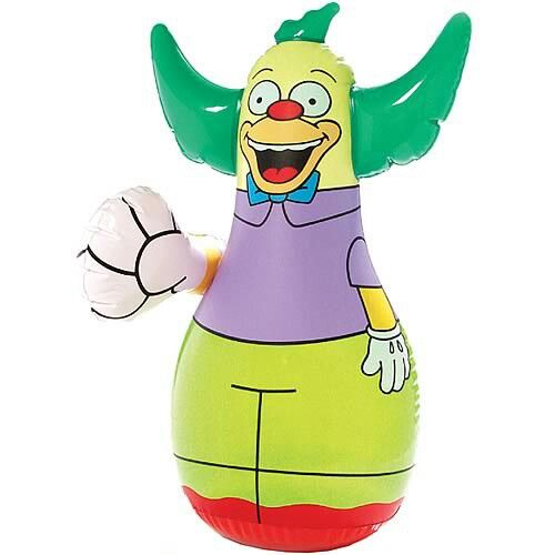 Krusty Punching Doll The Doll That Punches Back Krusty The