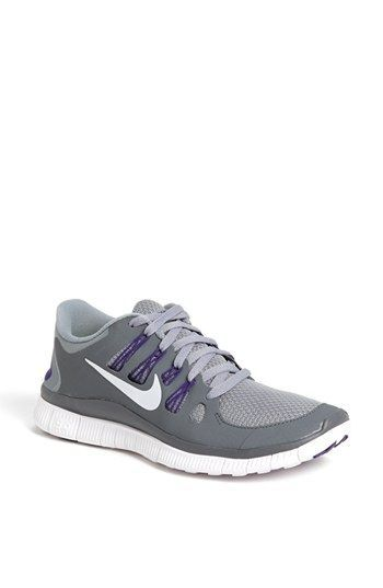 Nike 'Free 5.0' Running Shoe (Women) available at #Nordstrom In black