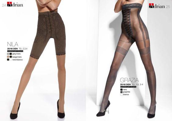Adrian Nila | Grazia -20/40 Denier Thickness  #Adrian #FashionTights