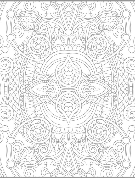 Coloring Sun And Mandala Coloring On Pinterest Sun Moon Mandala Coloring