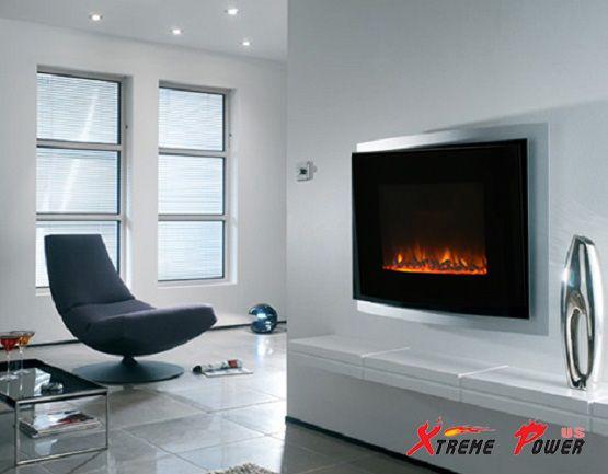 Elektro Wand Kamine Elektrokamin Fireplace Design Modern Fireplace Modern Home Interior Design