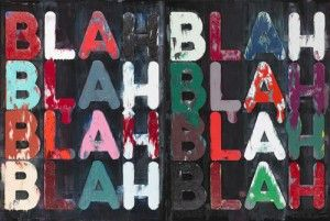 The words of an artist - Mel Bochner