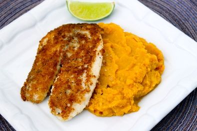 crispy panko crusted fish