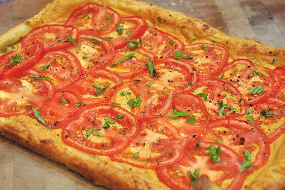 Tomato and Basil Tart