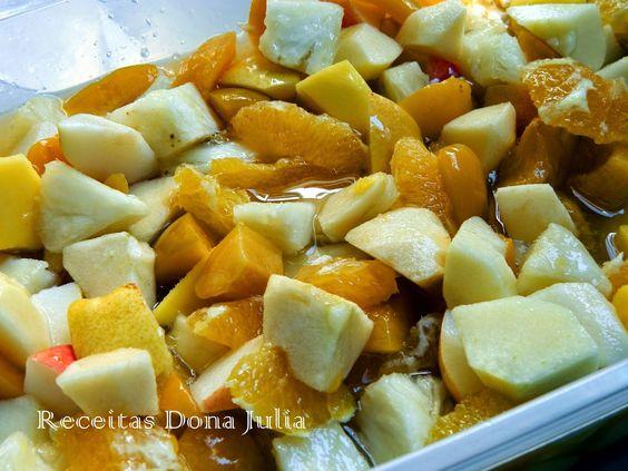#receita #receitasdonajulia #boanoite RECEITAS DONA JULIA - Blog de Culinária Gastronomia e Receitas.: SALADA DE FRUTA