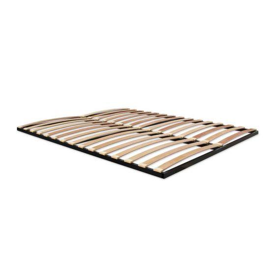 Doga in legno per letti singoli o matrimoniali, struttura in metallo e doghe in faggio a vapore, senza piedini al miglior rapporto prezzo – qualità. 68,90 €