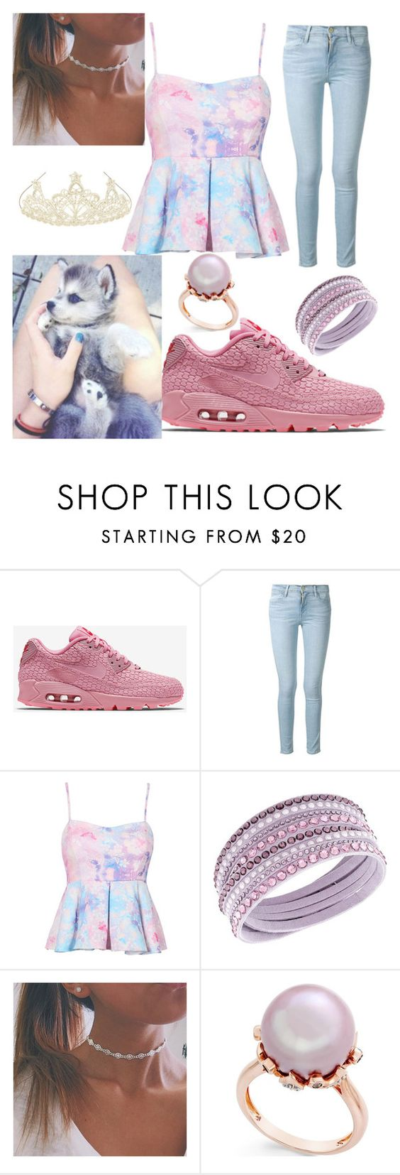 """Getting a puppy"" by bobglitter ❤ liked on Polyvore featuring NIKE, Frame Denim and Monsoon"