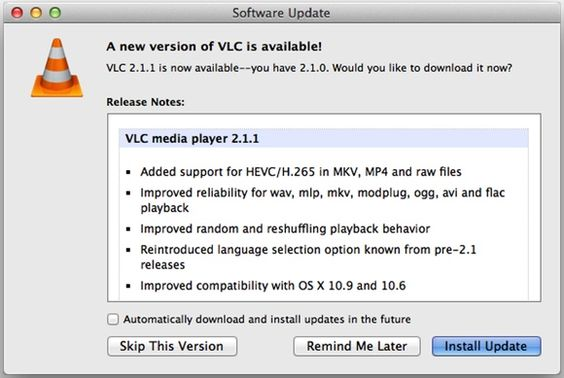 Time to Update: VLC Player 2.1.1, Flash Player 11.9.900.152