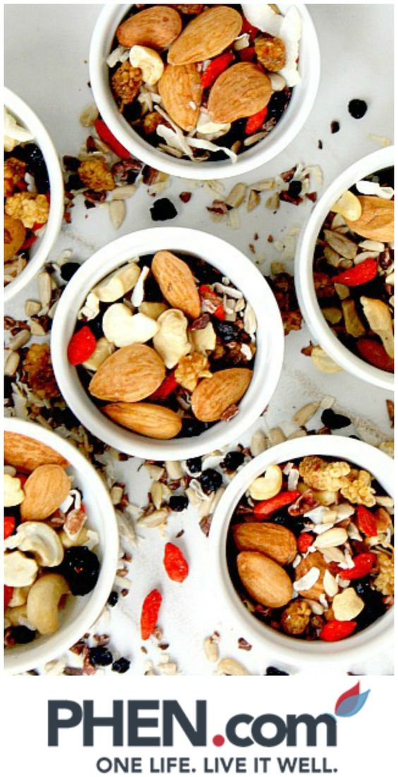 Fruit & Nut Mix...At between 3 and 3.5 calories each, you can eat around 45 pistachios for 150 calories, and having to remove the shells slows you down so you can't plough through them mindlessly. Pistachios are rich in monounsaturated fatty acids, protein, antioxidants, a variety of B vitamins, and vitamin E.#weightloss #health #loseweigth #fit #fitness #happy #healthy #sugar #recipe #breakfast #motivation #funny #phentermine #strong #workout #healthy #diet #fashion