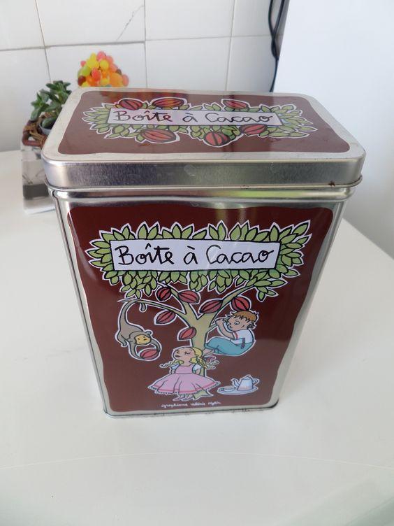 Boîte à cacao