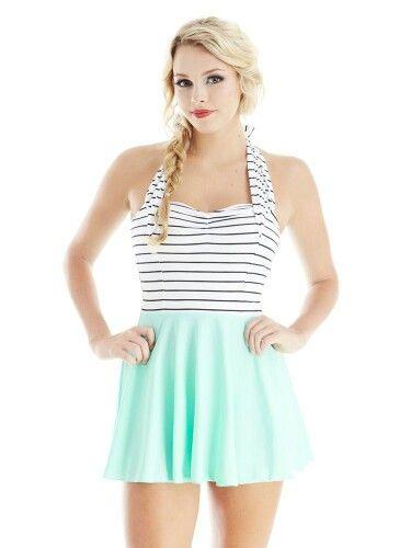 Jessica Rey swimwear ( I want this swimsuit).
