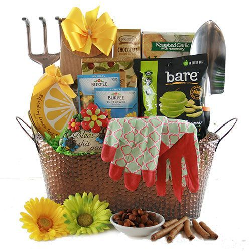 Spring Madness Gardening Gift Basket With Images Gift Baskets