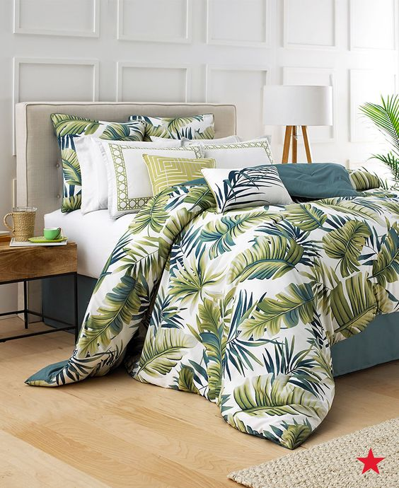 Perfect for a beach house or summer home, this Boca Raton comforter is a tropical beauty. Shop macys.com now for more coastal looks!