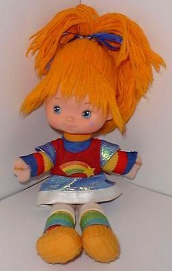 rainbow bright doll: