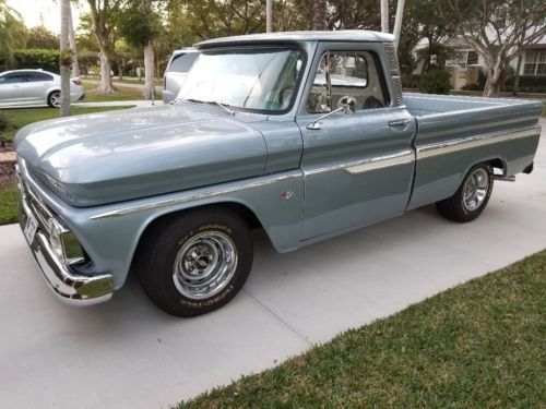 1966 Chevrolet C10 Custom Pickup Truck Old 1960 S Trucks For Sale
