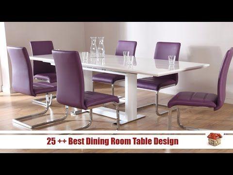 25 Best Dining Room Table Design Home Design Videos Youtube Dining Room Furniture Modern Modern Dining Table Modern Dining Room Tables